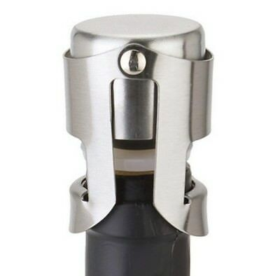 (Silver) - Clearance! Sinma Wine Bottle Stoppers Convenient Stainless Steel