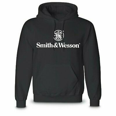 Smith & Wesson Unisex Heavy Weight Pre-Shrunk Cotton Pullover Hooded Sweatshirt