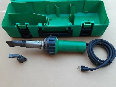 Leister Triac Electric Corded Hot Air Tool Heat Gun with Case