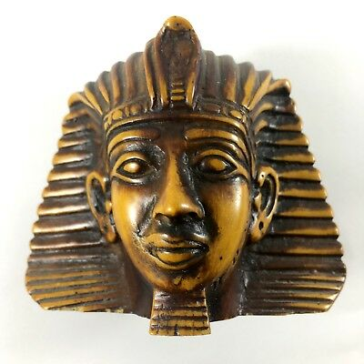 beautiful Stone Antique Vintage Hand Made Egyptian King Tut Made In Egypt rare