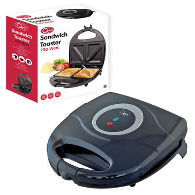 New Electric Sandwich Maker Toaster 2 Slice Toasties Non Stick Grill Press 700W