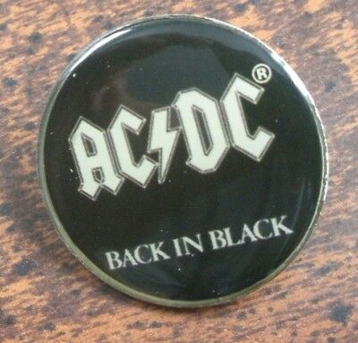 AC/DC Tour Collection Tack Pin Classic Rock Collectible
