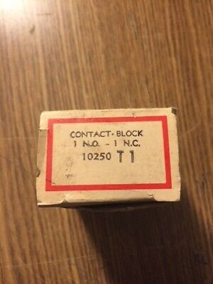 Cutler Hammer 10250T1 Contact Block New In Box