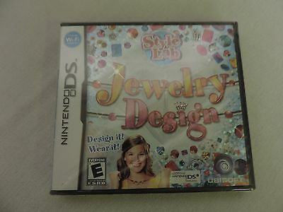 NINTENDO DS Nds Game Style Lab Jewelry Design Brand New 198