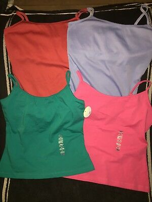 Lot Of Four Juniors Tanks NWT. Old Navy Size Med Rampage Size Small
