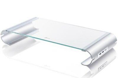 J5 CREATE JUT325 Monitor stand 3-Port USB 3.0 HUB Fast Charge Tempered Glass [3]