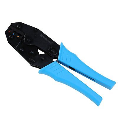 Professional Insulated Ratching Cable Wire Crimper Terminals Tool 22-10AWG