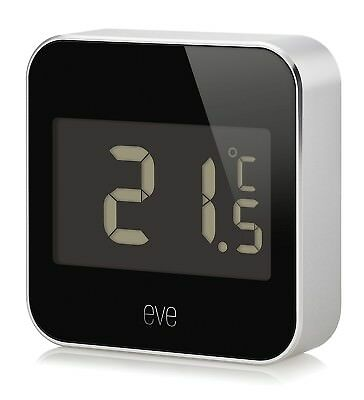 (Eve Degree) - Elgato 10EAF9901 Eve Degree Temperature & Humidity Monitor with