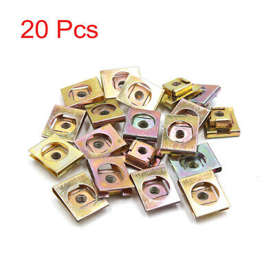 uxcell 40Pcs 5mm Thread Dia Motorcycle Brake Cable Wire Solderless Nipple Screw