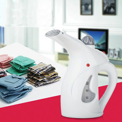 750W Portable Electric Clothes Iron Steamer Handheld Garment Fabric Travel Home