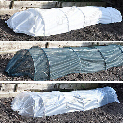 Choice of 3m grow tunnels / cloches - POLY - NET or FLEECE