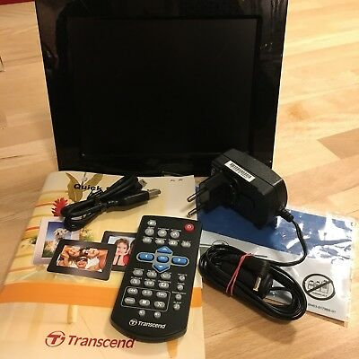 Transcend Digitaler Bilderrahmen (20,3 cm (8 Zoll) Display