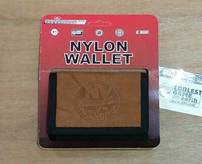 New York Islanders - NHL Ice Hockey Brown Trifold Wallet - New