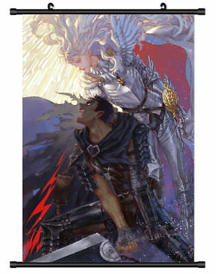 "Hot Japan Anime BERSERK Kentaro Miura Home Decor Poster Wall Scroll 8""x12"" PP312"