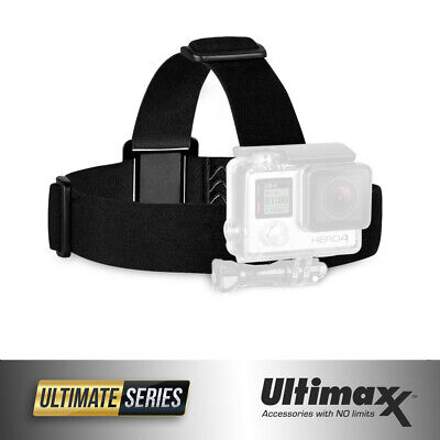 Elastic Adjustable Head Strap Mount Belt For ALL GoPro Hero 3/3+/4/5/6 - New