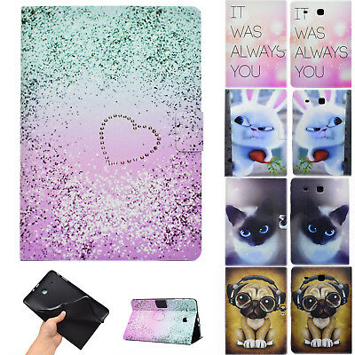 Magnetic Case PU Leather Stand Flip Cover for Samsung Galaxy Tab E 9.6 SM-T560