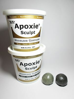 AVES APOXIE Sculpting Figure Material Clay Custom Epoxy Putty Resin Green Stuff