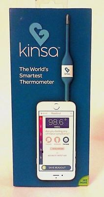 Kinsa Smart Stick Digital Thermometer KSA-003B For Oral Rectal Underarm SEALED