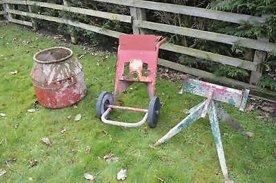 Cement Mixer Parts, Belle Mini-mix Mark III, Bowl, Stand and Trolley