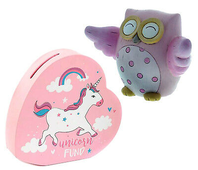 Girls Pink Bedroom Accessories Unicorn Owl Baby Gifts For Room Ornament Home Dec
