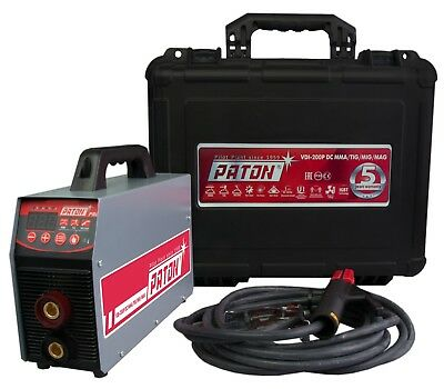 PATON MMA WELDER MMA TIG DC PATON VDI 200P SMALL ARC Machine WORLDWIDE SHIPPING