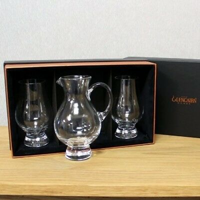 The Glencairn Official Whisky Set of 2 Glasses and Jug Set. Free Delivery