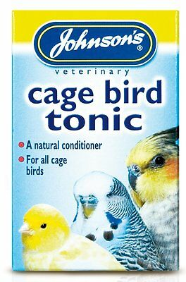 Johnsons cage bird vitamin tonic 15ml new improved