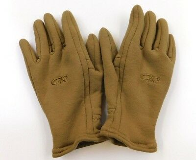 Outdoor Research US Military Tactical Field Gloves Coyote Tan Brown M Medium EUC