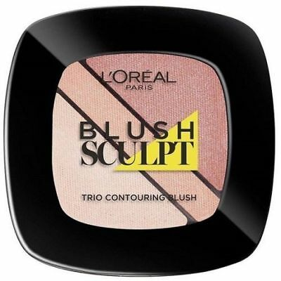 L'Oreal Infallible Sculpt Blush Trio Contouring Blush Palette Soft Sand Sealed