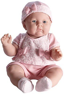 JC Toys Lily In Pretty Realistic Doll Baby Doll, Light Pink, 18""