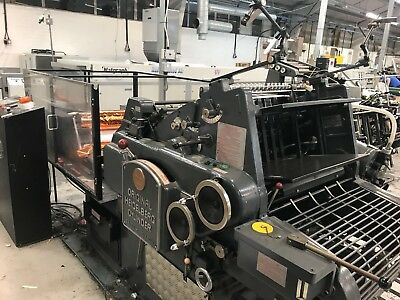 Heidelberg KSB Hot foiling / Embossing / Die cutting machine
