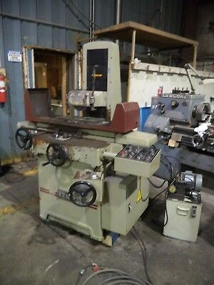 "Kent Model KGS-250-AHD 8"" X 18"" Automatic Surface Grinder w/Incremental Downfeed"