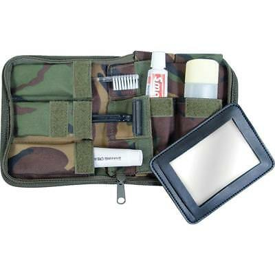 Web-Tex Army Camping Camouflage Green Wash Kit Hygiene For Camping Festivals