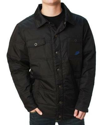 Troy Lee Designs TLD Trails Button Down Puffer Jacket Black - SPRING CLEAROUT!