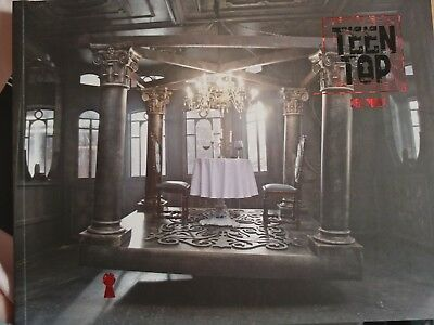 Kpop boyband [TEEN TOP] 7th Mini Album [RED POINT] Urban Ver. (Opened no pc)