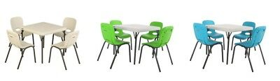 [No Tax] Lifetime Kids Table with 4 Almond Chairs, Free Shipping
