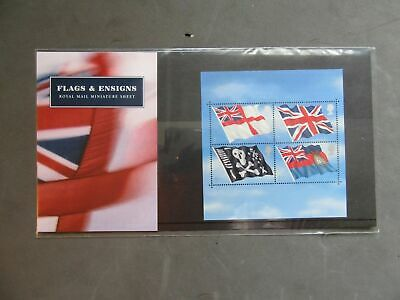 "G.B Presentation Pack ""Flags & Ensigns"" Pk No.M06 22/10/01"