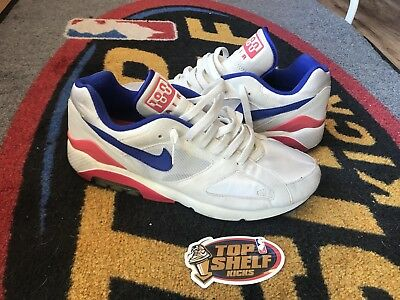 huge discount 4f7c3 8487e Nike Air Max 180 Retro Vtg Vintage Size 10.5 Runner Authentic Red Purple  White