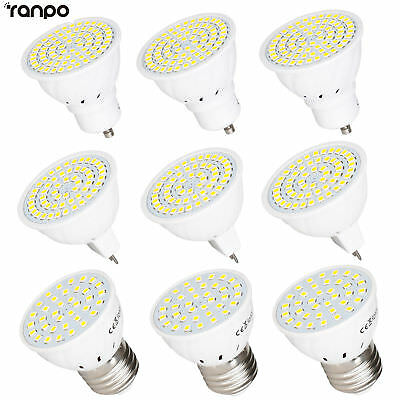 LED Spot Light Bulbs GU10 MR16 E27 7W 5W 3W 2835 SMD 12V 24V 220V Lamps Bright