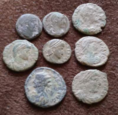 Group of 8 Roman Imperial Coins As Shown