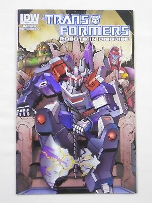 IDW The Transformers: Robots in Disguise #34 (2014)