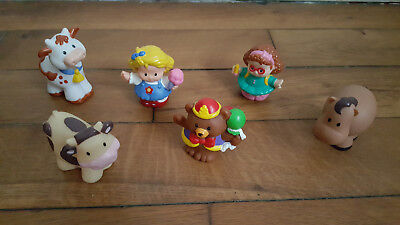 Little People Fisher Price Lot Bonhommes et Animaux