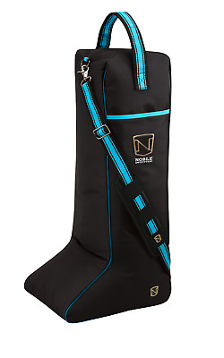 Noble Outfitters Just For Kicks Riding Boot Bag - Deep Turquoise