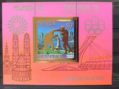 SENEGAL Olympia 1976 Gold MNH perf gezähnt olympische Spiele BOXING