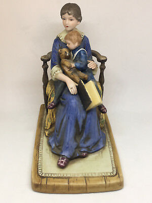 """Porcelain Figurine """"Bedtime"""" by Norman Rockwell Museum 1979"""