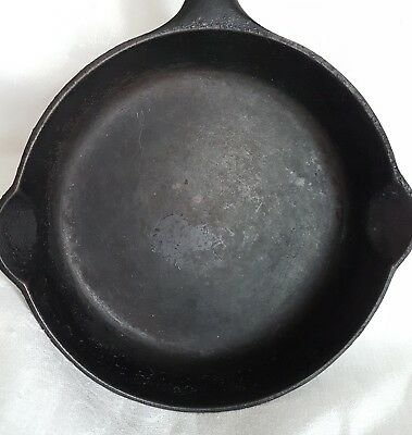 #3 Griswold Cast Iron Skillet Pan Small Logo Original Condition Erie 7 Inches