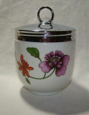 Beautiful Royal Worcester Maxime Astley Pattern Egg Coddler RETIRED