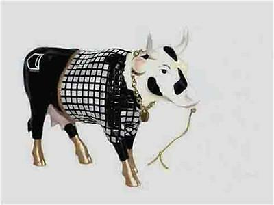 Retired! Cow Parade:~Disco~ Cow 'she Danced All Nite!' New W/o Tag!(Us Shp'g $6)