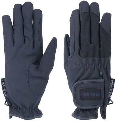 (XX-Small, blue - navy) - Harry's Horse Domy/Mesh Women's Gloves. Free Shipping