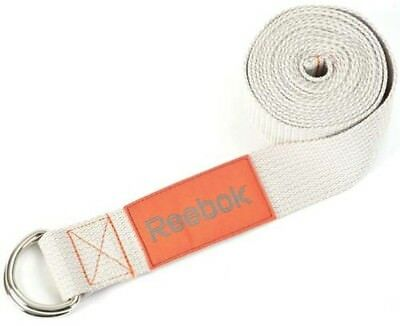 Reebok Exercise Fitness Stretching Workout Soft Touch Solid Grip Yoga Straps